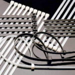 хомуты и стяжки для силового кабеля