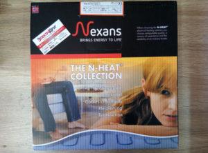 теплый пол nexans txlp/2R. упаковка