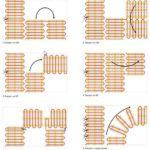 схемы раскладки нагревательных матов