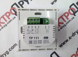 терморегулятор ТР 111. фото сзади