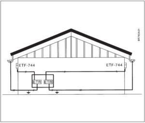 схема монтажа ETRF-1447A