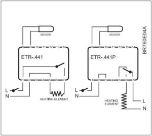 схема включения ETRF-1447A