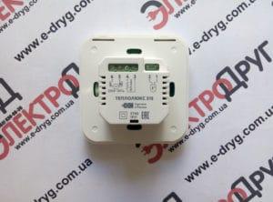 терморегулятор теплолюкс 515. вид сзади