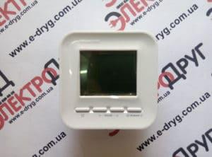 терморегулятор теплолюкс 520. вид спереди