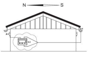 схема включения profitherm К-2. вариант 2