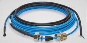 кабель для обогрева трубы внутри монтаж нагревательного кабеля DEVIaqua 9T