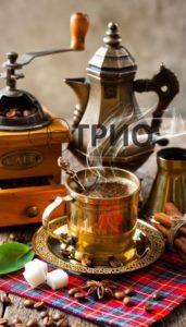 картина обогреватель ТРИО - кофе