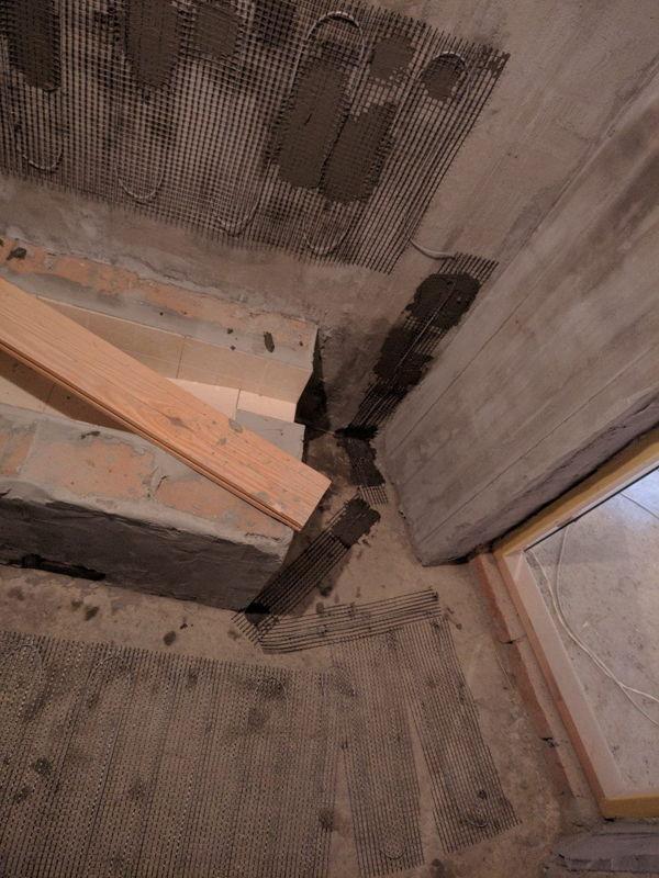 теплый пол в хамаме   фото 1