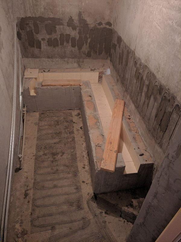 теплый пол в хамаме   фото 2